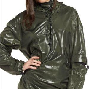 IVY PARK Hi Shine Lace-Up Jacket